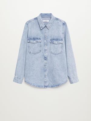 Сорочка блакитного кольору   5647065