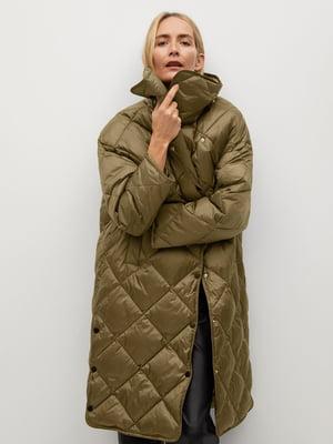 Куртка оливкового кольору | 5647084