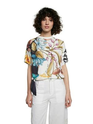 Блуза в цветочный принт | 5635967