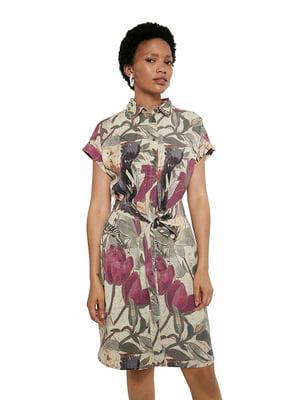 Сукня в квітковий принт   5636018