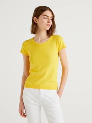 Джемпер-топ жовтий | 5636087