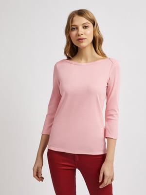 Лонгслив розовый | 5636111