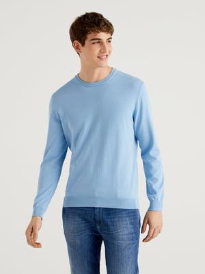 Джемпер голубого цвета   5636175