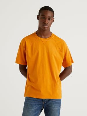 Футболка морквяного кольору | 5636178