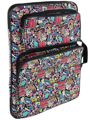 Сумка-рюкзак в принт | 5634131