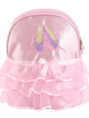 Рюкзак рожевий з малюнком | 5634153