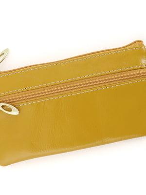 Гаманець-ключниця жовтий | 5634364
