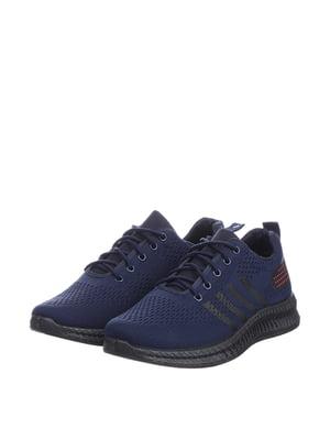 Кроссовки синие | 5647852