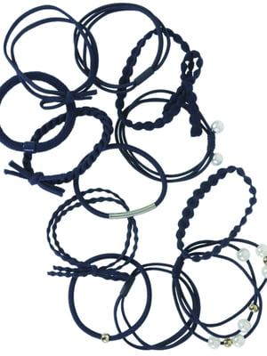 Набір резинок для волосся (12 шт) | 5634001