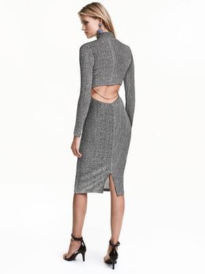 Сукня сріблястого кольору | 5641945