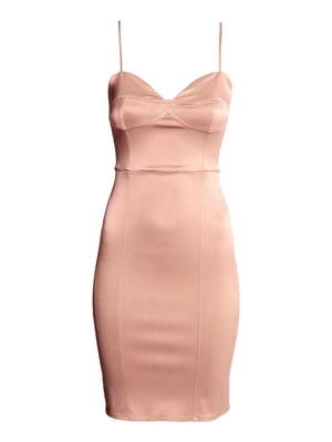 Платье пудрового цвета | 5641953