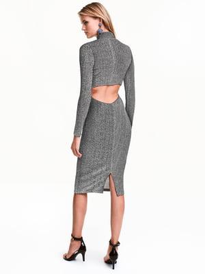 Сукня сріблястого кольору | 5642282