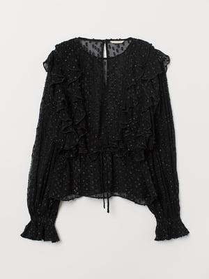 Блуза черная   5642566