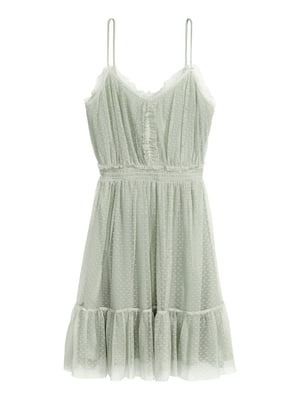 Сукня сіро-зелена | 5642353
