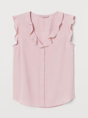 Блуза пудрового кольору   5642567