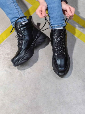 Ботинки черные | 5648170