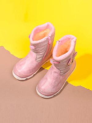 Чоботи рожевого кольору   5648481