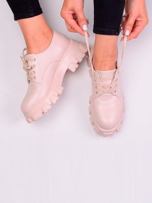 Туфли бежевого цвета | 5649351