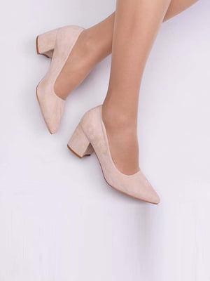 Туфли бежевого цвета | 5649884