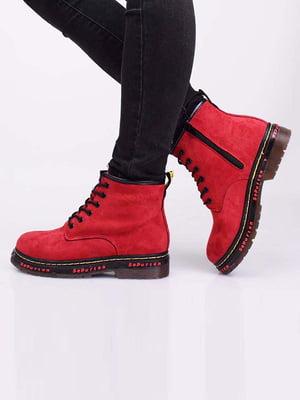 Ботинки красного цвета | 5650074