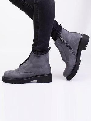 Ботинки серые | 5650076