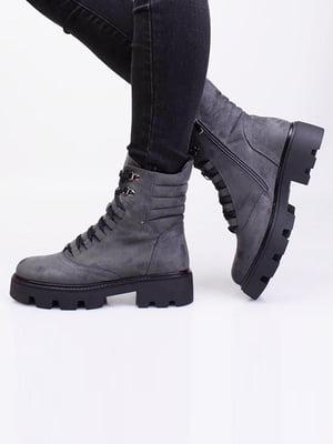 Ботинки серые | 5650086
