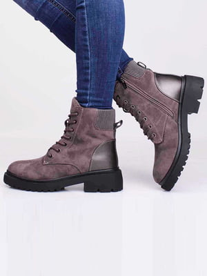 Ботинки коричневого цвета | 5650164