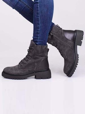 Ботинки серые | 5650166
