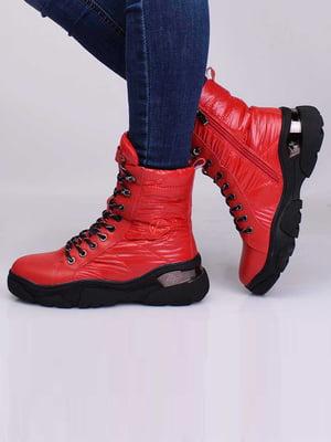 Ботинки красного цвета | 5650169