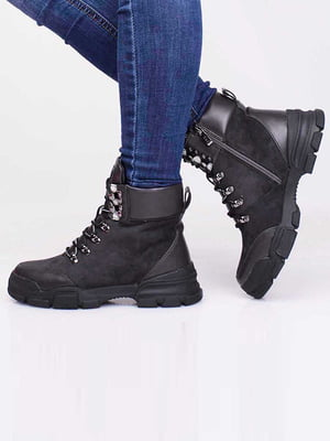 Ботинки серые | 5650177