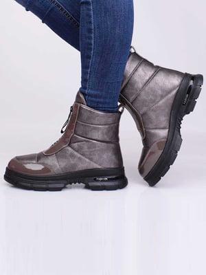 Ботинки коричневого цвета | 5650185