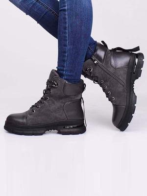 Ботинки серые | 5650200