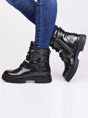 Ботинки темно-зеленого цвета   5650205