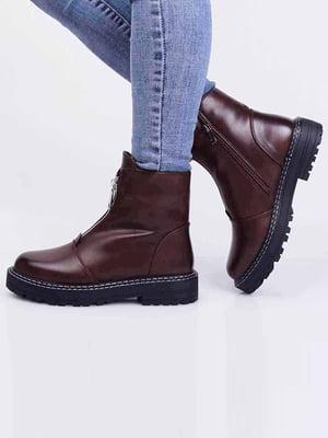 Ботинки коньячного цвета | 5650208