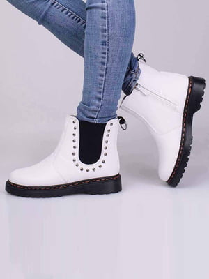 Ботинки белые | 5650277