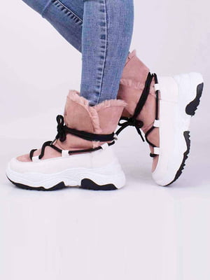 Ботинки розового цвета | 5650282