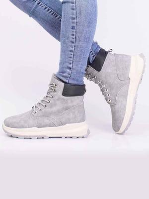 Ботинки серые | 5650308