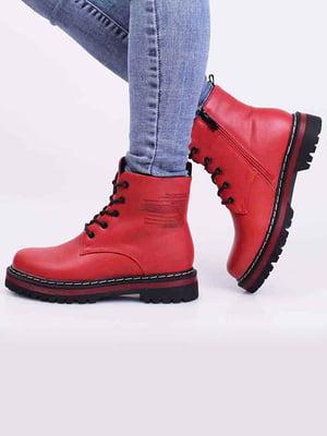 Черевики червоного кольору | 5650326