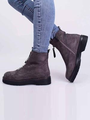 Ботинки серые | 5650366