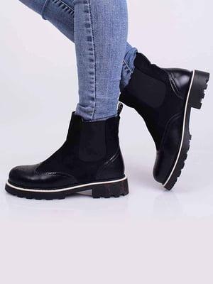 Ботинки черные | 5650372