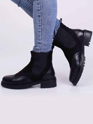 Ботинки черные | 5650389