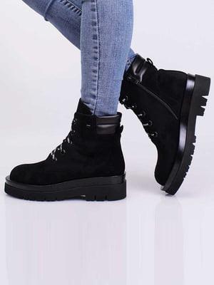 Ботинки черные   5650419