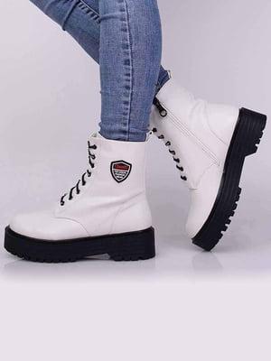 Ботинки белые | 5650445