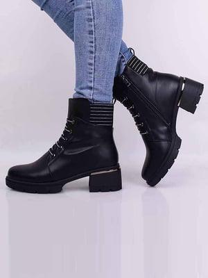 Ботинки черные | 5650518
