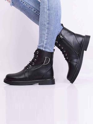 Ботинки черные | 5650524