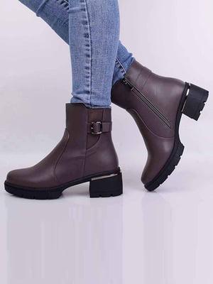 Ботинки цвета кофе | 5650530