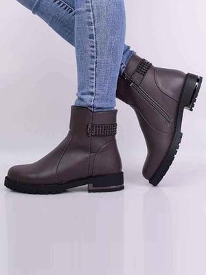 Ботинки цвета кофе | 5650532