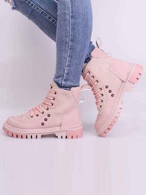 Ботинки розового цвета | 5650604
