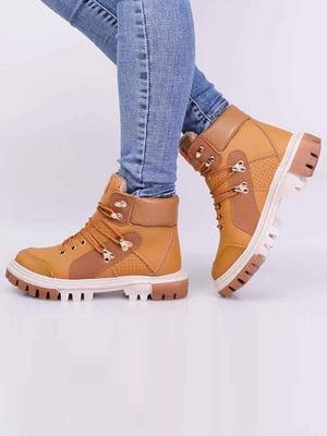 Ботинки коричневого цвета | 5650609