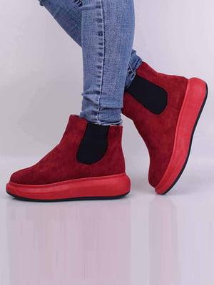 Ботинки красного цвета | 5650617
